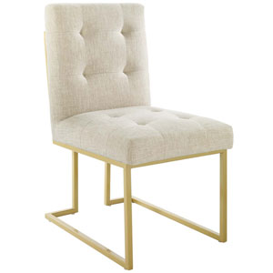 Cooper Gold and Azure Accent Chair