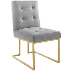 Cooper Gold and Gray Accent Chair