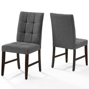 Whittier Gray Dining Chair - Set of 2