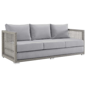 Roat Gray Outdoor Patio Sofa