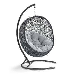 Darren Gray 40-Inch Outdoor Patio Lounge Swing Chair