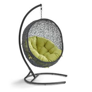 Darren Peridot 40-Inch Outdoor Patio Lounge Swing Chair
