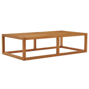 Taryn Natural Outdoor Patio Coffee Table