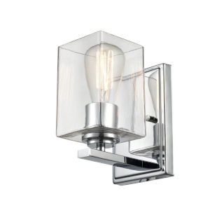 Essex Chrome Five-Inch One-Light Wall Sconce