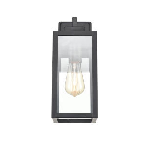 Artemis Powder Coat Black Five-Inch One-Light Outdoor Wall Sconce