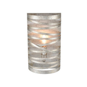 Castor Antique Nickel Seven-Inch One-Light Wall Sconce
