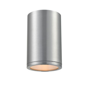 Artemis Brushed Aluminum Seven-Inch One-Light Outdoor Wall Sconce