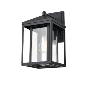 Eloise Matte Black Eight-Inch One-Light Outdoor Wall Sconce