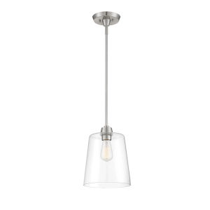 Bryant Brushed Nickel One-Light Mini Pendant