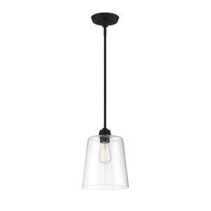 Bryant Matte Black One-Light Mini Pendant