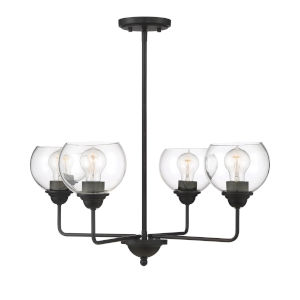 Irving Oil Rubbed Bronze Four-Light Chandelier