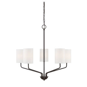Eloise Oil Rubbed Bronze Five-Light Chandelier