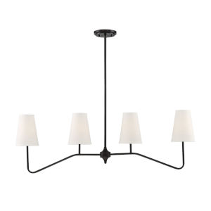 Lyndale Oil Rubbed Bronze Four-Light Chandelier