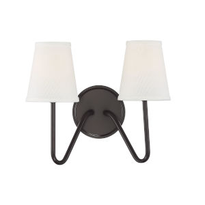 Lyndale Oil Rubbed Bronze Two-Light Wall Sconce