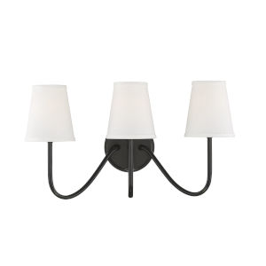Lyndale Oil Rubbed Bronze Three-Light Wall Sconce