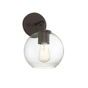 York Oil Rubbed Bronze One-Light Outdoor Wall Sconce