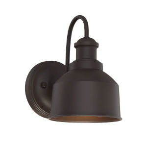Lex Oil Rubbed Bronze Six-Inch One-Light Outdoor Wall Sconce