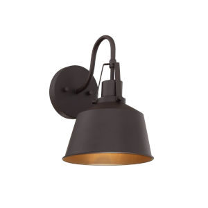 Lex Oil Rubbed Bronze Eight-Inch One-Light Outdoor Wall Sconce