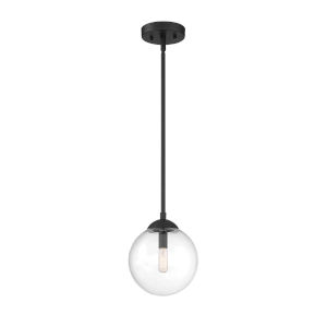 Irving Matte Black One-Light Mini Pendant