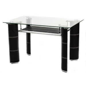 Uptown Black 29-Inch Dining Table