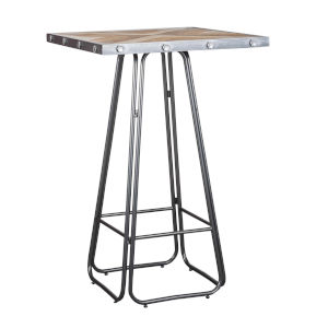 Loring Silver Counter Height Dining Table