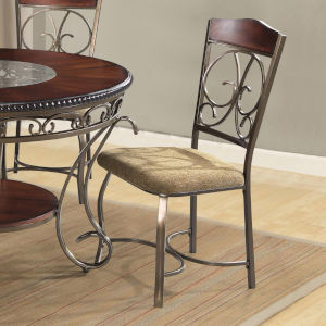 Whittier Espresso Side Chair, Set of Two