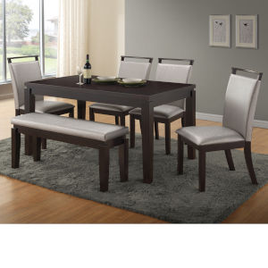 Whittier Dark Espresso Six-Piece Dining Set