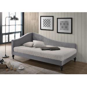 Vivian Gray Velvet 41-Inch Day Bed