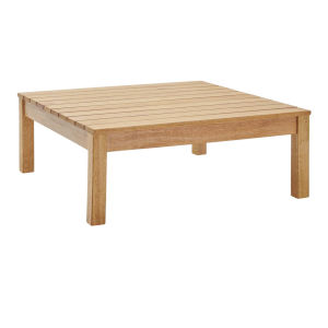 Darren Natural Outdoor Patio Coffee Table