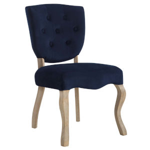 Aster Midnight Blue 25-Inch Dining Side Chair