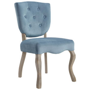 Aster Sea Blue 25-Inch Dining Side Chair