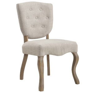 Aster Beige 20-Inch Dining Side Chair