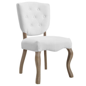 Aster White 20-Inch Dining Side Chair
