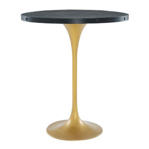 Cooper Black Gold Bar Table