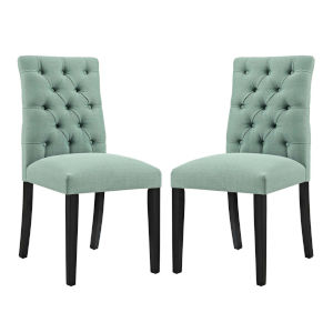 Whittier Laguna Fabric Dining Chair, Set of Two