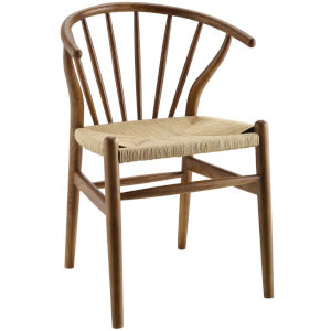 Nicollet Walnut Dining Side Chair