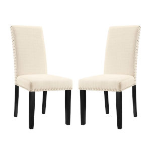 Selby Beige Dining Side Chair, Set of Two
