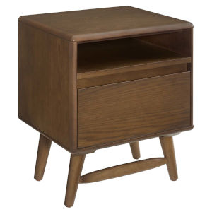 Uptown Chestnut Wood Nightstand