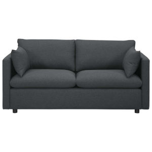 Selby Gray Upholstered Fabric Sofa