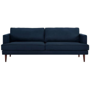Nicollet Blue Upholstered Fabric Sofa