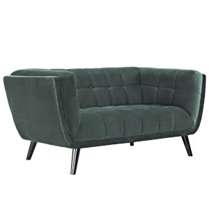 Cooper Green Performance Velvet Loveseat