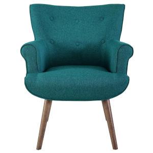 Monroe Teal Upholstered Armchair