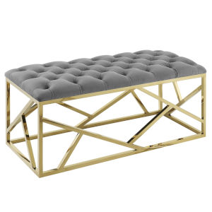 Cooper Gold Gray Bench
