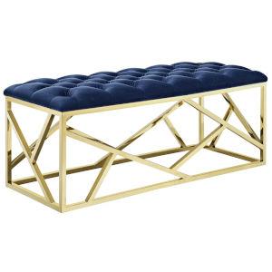 Cooper Gold Navy Bench