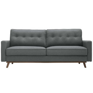 Loring Gray Upholstered Fabric Sofa