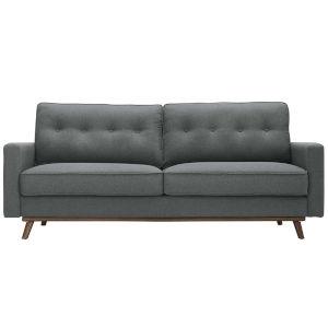 Loring Gray Upholstered Fabric Sofa