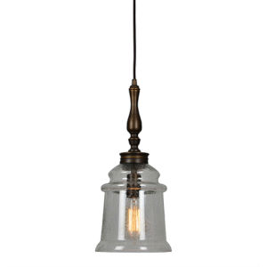 Elle Oil Rubbed Bronze One-Light Mini Pendant