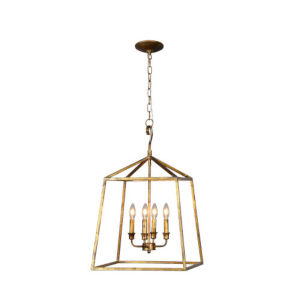 Kate Old Gold Four-Light Pendant