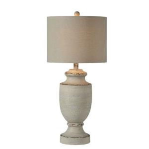 Hazel Gray Wash 34-Inch One-Light Table Lamp