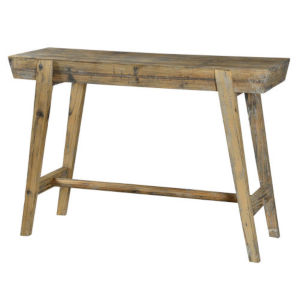 Willow Driftwood Console Table